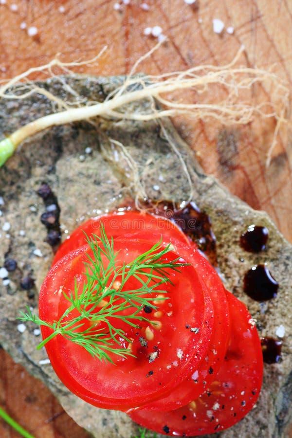 Organische Tomaten lizenzfreie stockfotografie