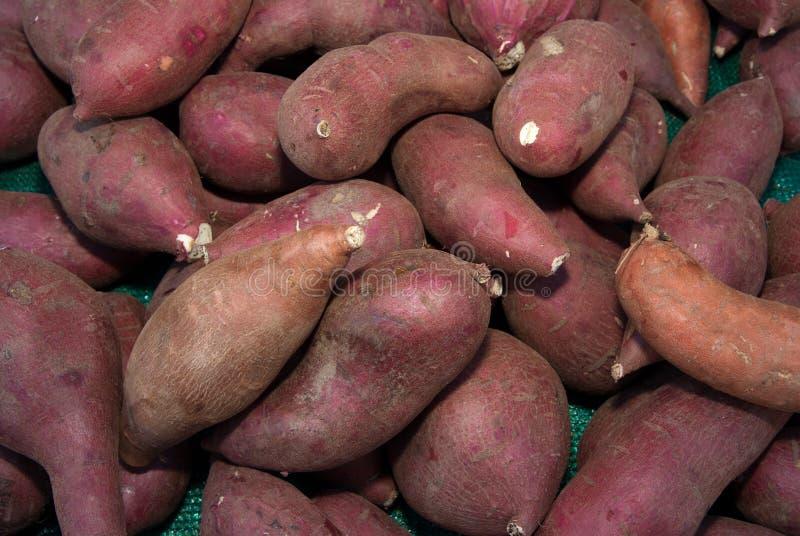 Organische Yams stock afbeeldingen