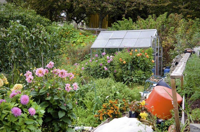 Organischer Garten lizenzfreies stockbild