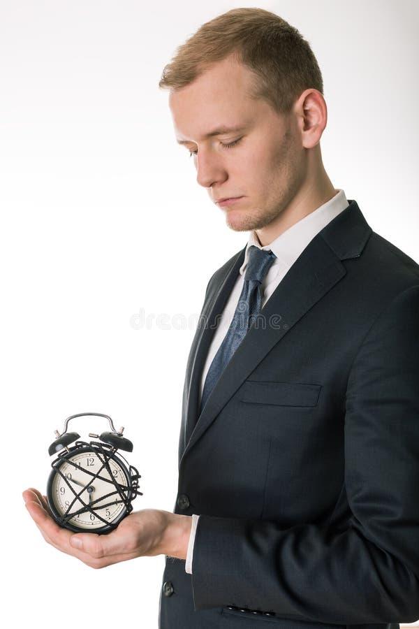 Organisierte jede Minute stockfotografie