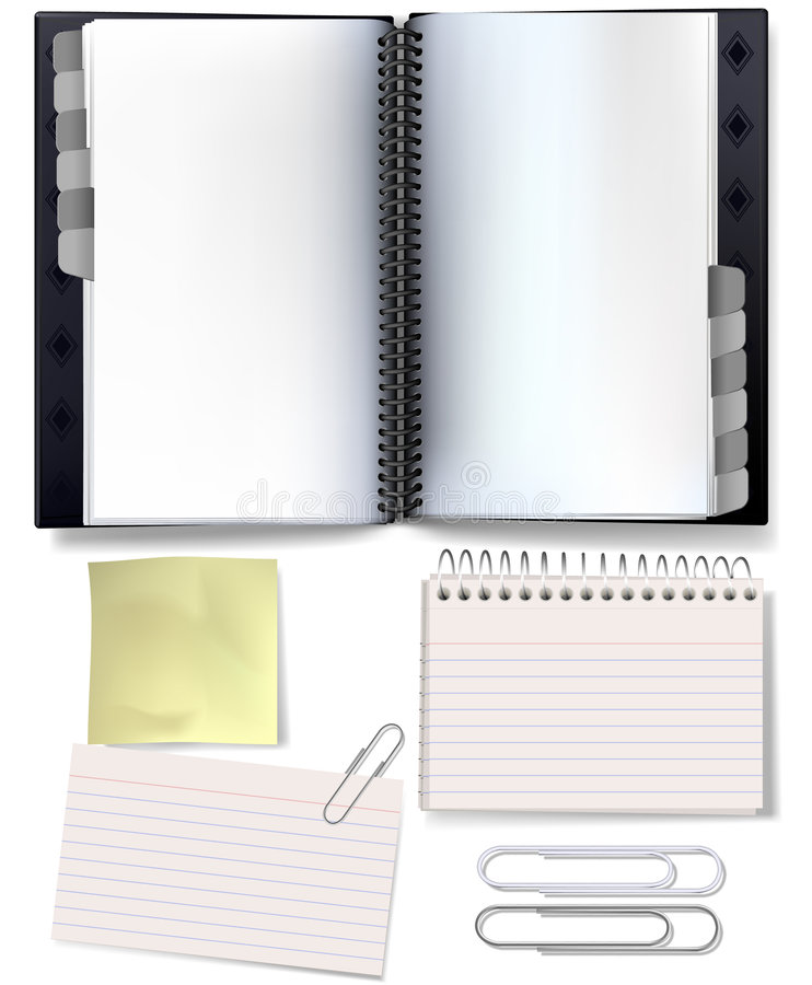Download Organising stationery stock vector. Image of stationery - 3340780
