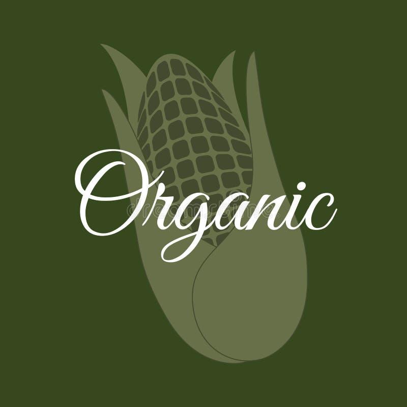 Organisk livsmedelsprodukt royaltyfri illustrationer