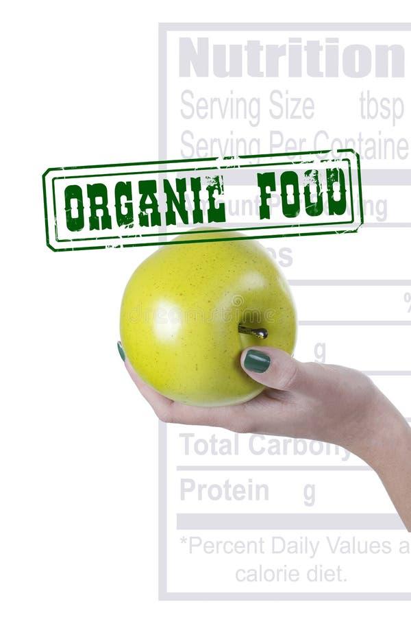 Organisk mat för affisch royaltyfri foto