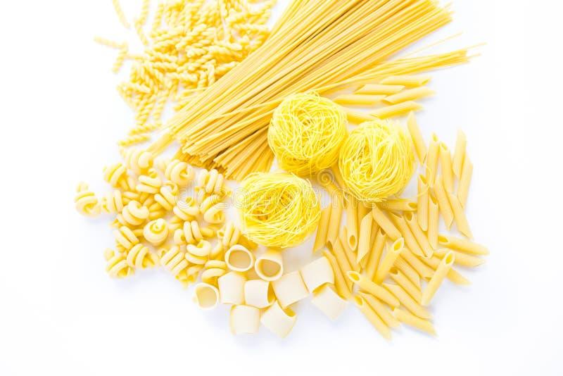 organisk pasta arkivbilder