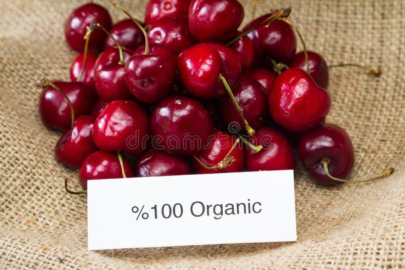 organiska Cherry arkivfoton