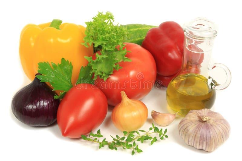 organiska grönsaker arkivfoton