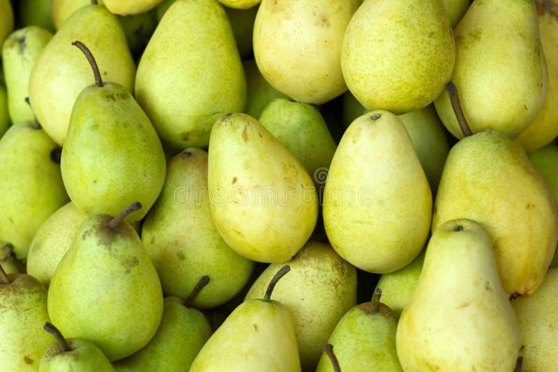 organiska pears arkivfoto