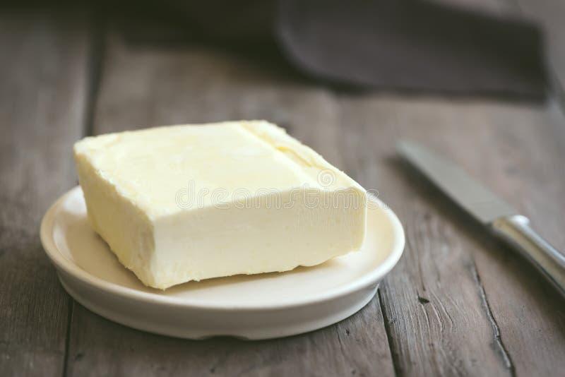 Organiskt smör arkivfoton