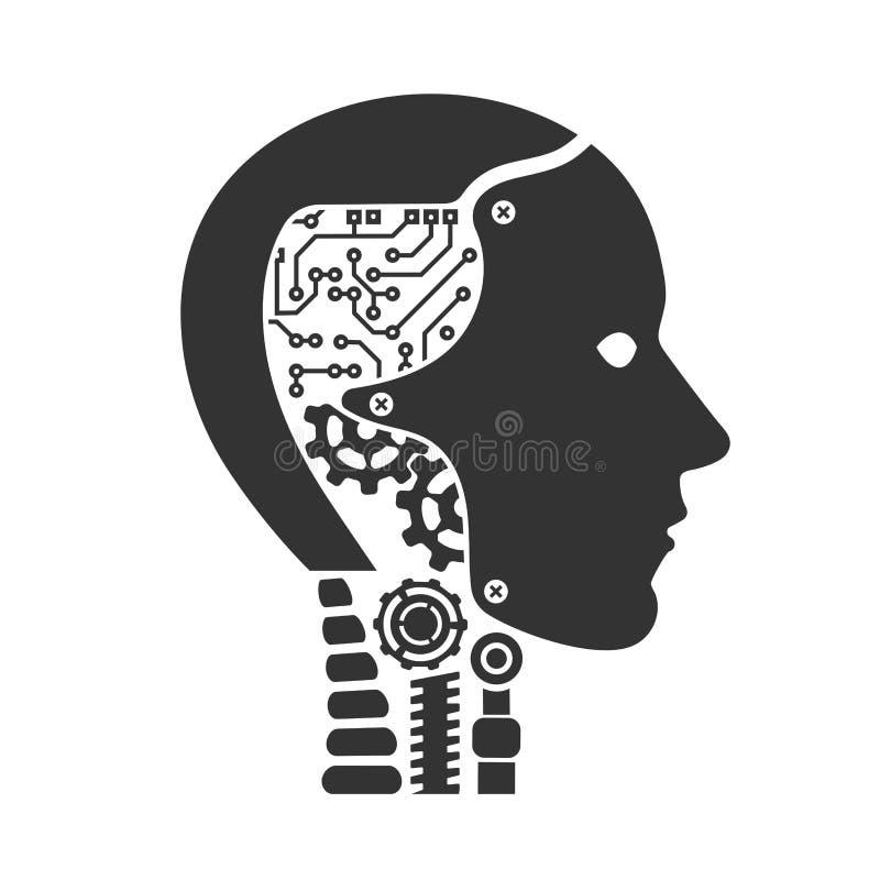 organismo cibernético del robot libre illustration