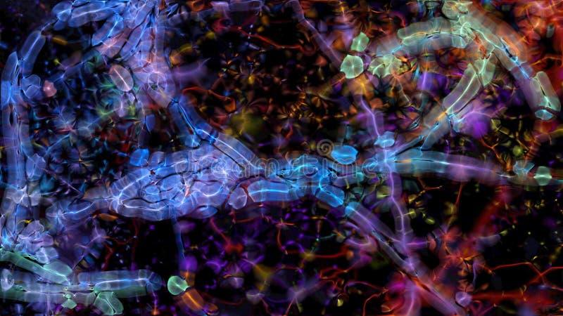 Organismo 0170 do Fractal imagem de stock