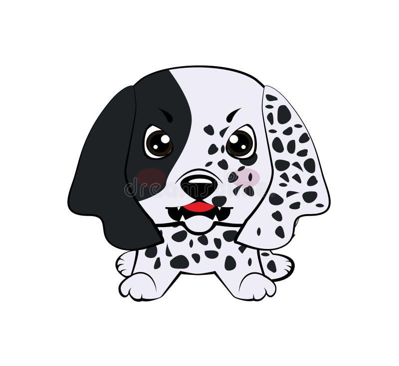 Organismo inglés del perrito del perro libre illustration
