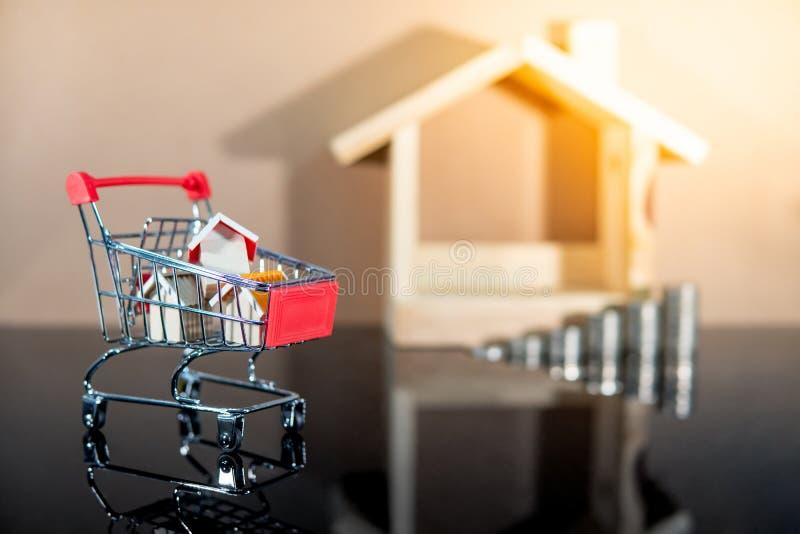 Organismos de investimento imobili?rio Conceito de compra da propriedade imagem de stock royalty free