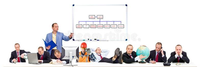 Organização simples fotografia de stock royalty free