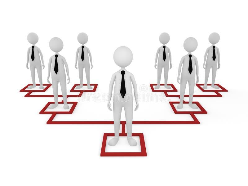 Organización libre illustration