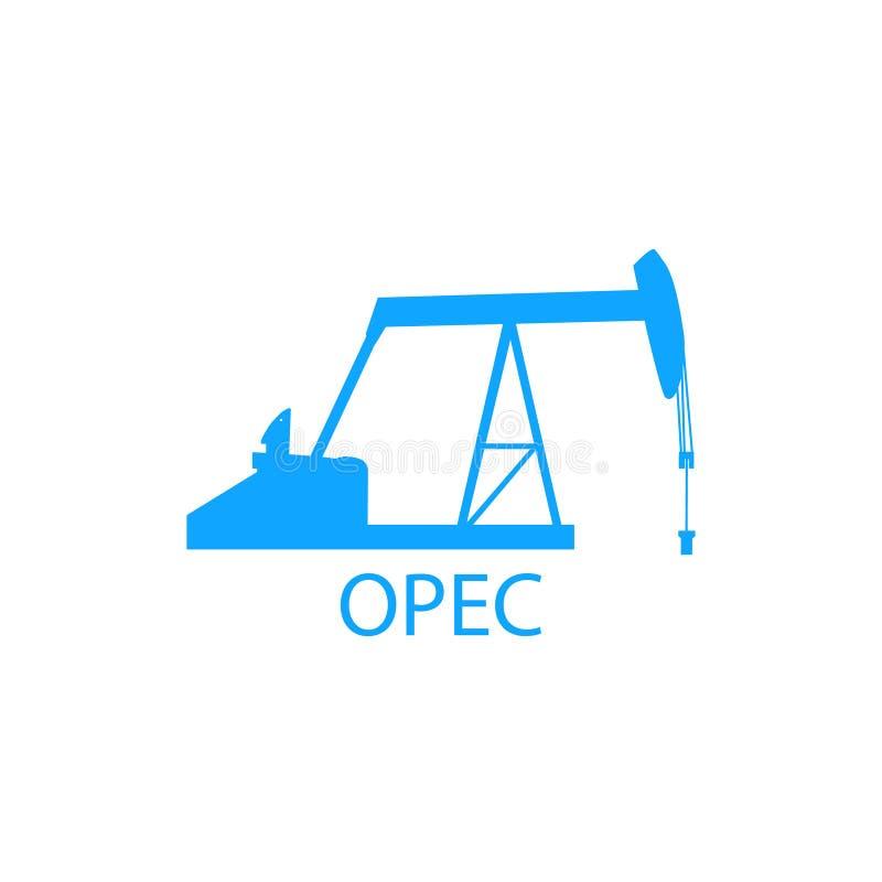 Organización de la OPEP stock de ilustración
