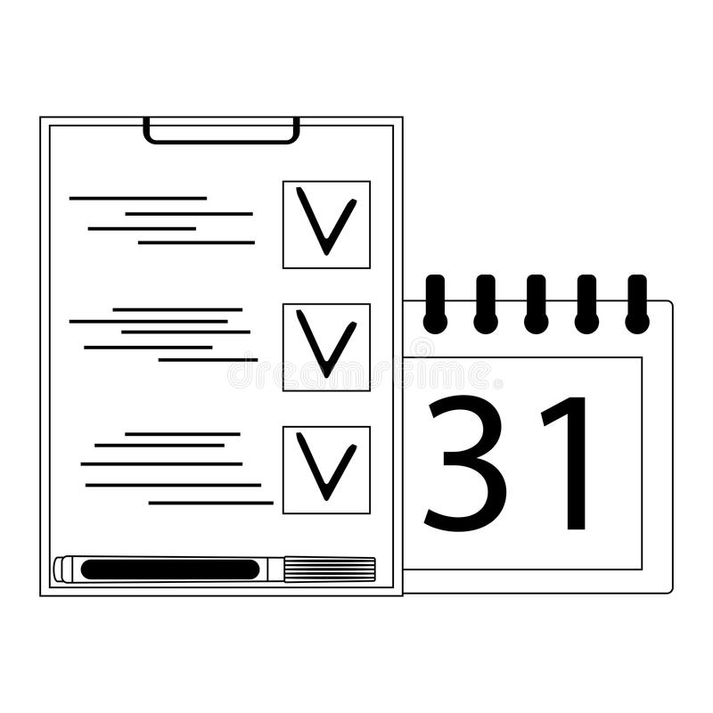Organización de planeamiento en estilo linear libre illustration