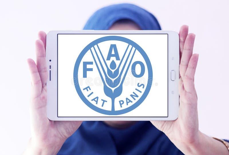 Organización para la Agricultura y la Alimentación, logotipo de FAO fotos de archivo libres de regalías