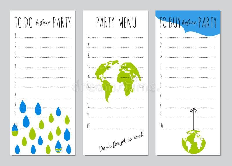 Organizador del partido del Día de la Tierra libre illustration