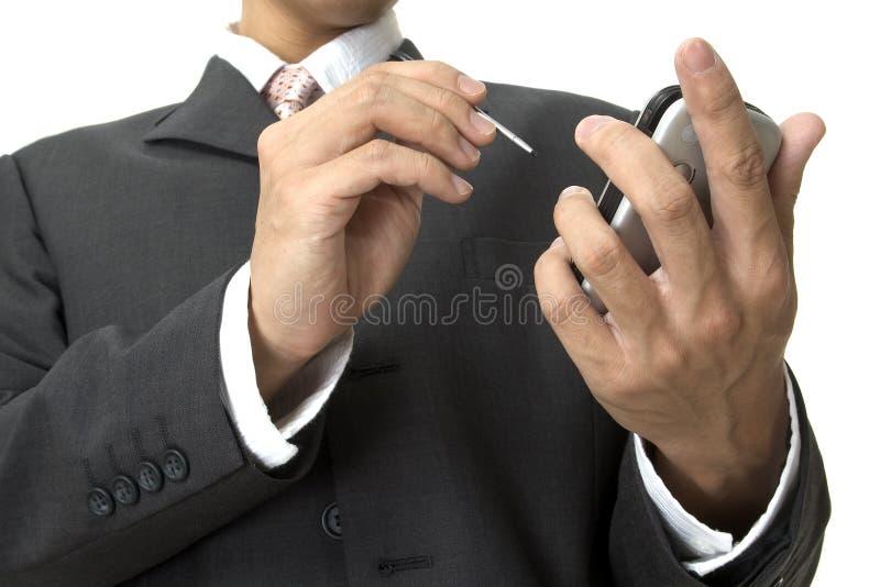 Organizador eletrônico foto de stock