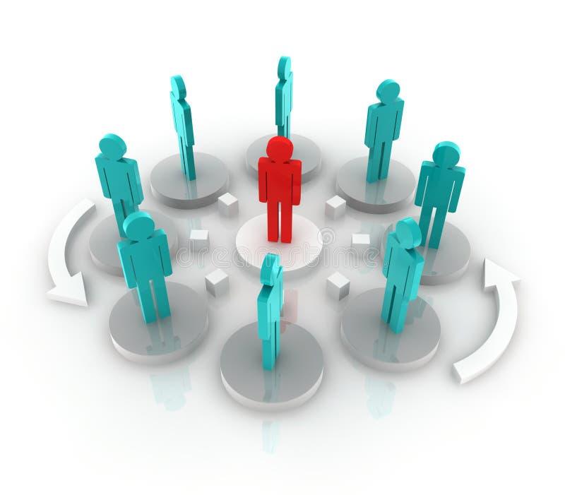 Download Organization stock illustration. Image of recruitment - 16019180