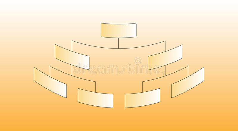 Download Organization Chart stock vector. Image of breakdown, levels - 9740779