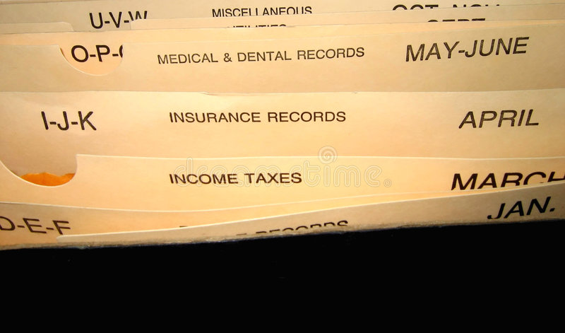 Download Organizer stock image. Image of insurance, holder, receipts - 63759