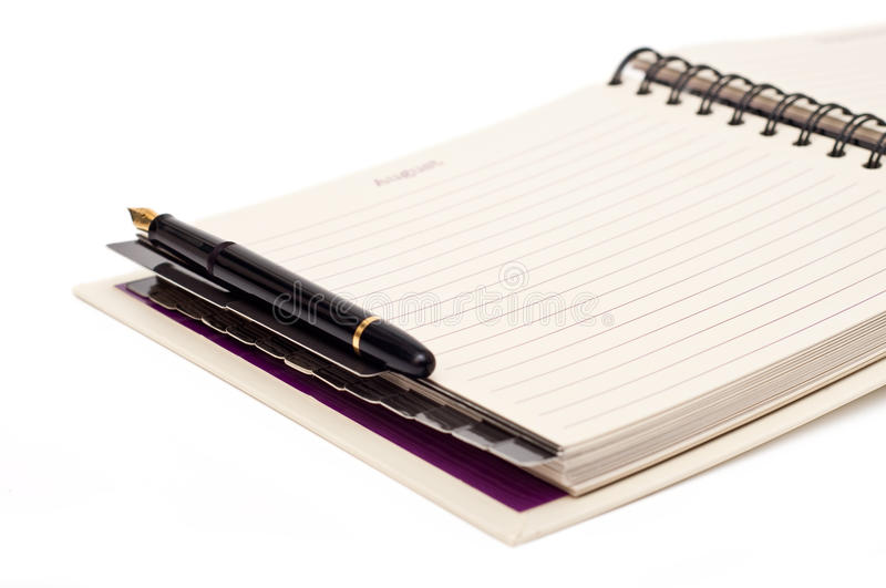 Download Organizer and pen stock photo. Image of portable, documents - 15142560