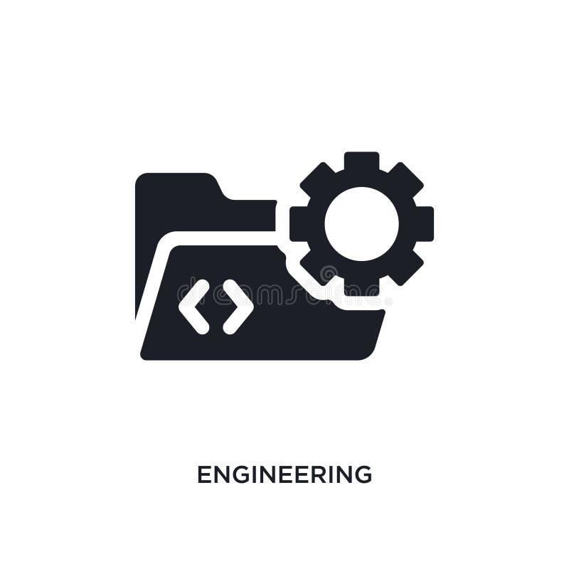 organizzazione dell'icona isolata illustrazione semplice dell'elemento dalle icone di programmazione di concetto organizzazione d royalty illustrazione gratis