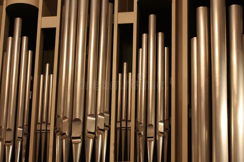 Organo-tubi immagine stock