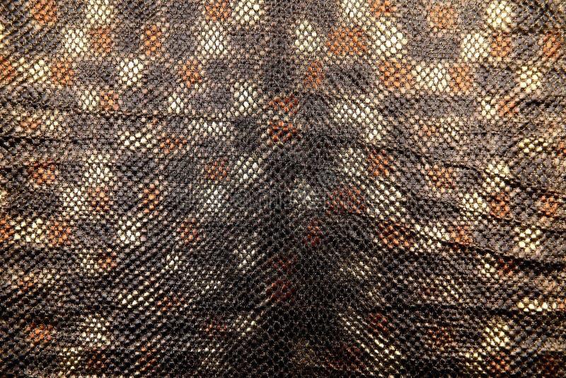 Organtyna är ett skinande material som är ett material som är passande för dräkter, som är förment att betona status och framgång royaltyfria bilder