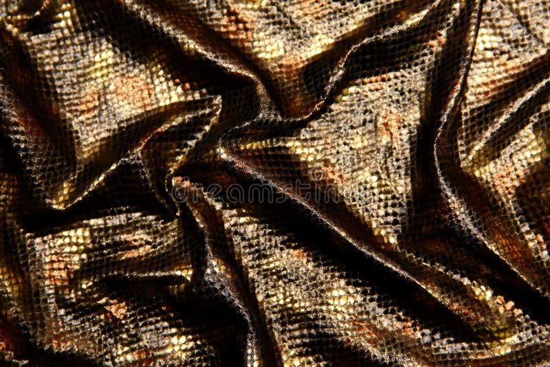 Organtyna сияющий материал который материал соответствующий для обмундирований которые предположены, что подчеркивают состояние и стоковое фото rf