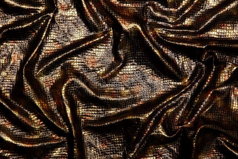 Organtyna сияющий материал который материал соответствующий для обмундирований которые предположены, что подчеркивают состояние и стоковые фото