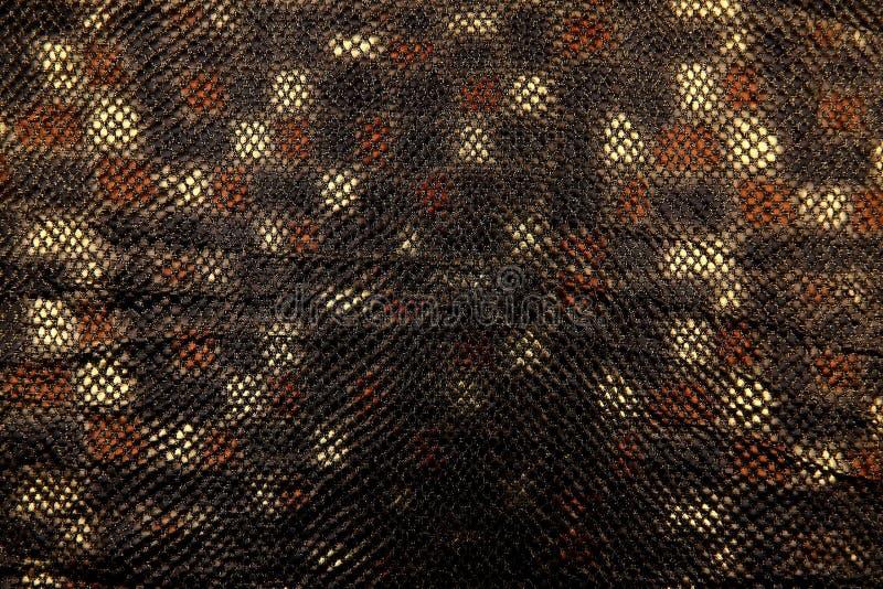Organtyna is een glanzend materiaal dat een materiaal geschikt voor uitrustingen is die verondersteld zijn om status en succes te royalty-vrije stock foto's