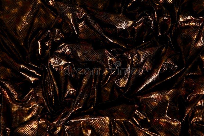 Organtyna is een glanzend materiaal dat een materiaal geschikt voor uitrustingen is die verondersteld zijn om status en succes te royalty-vrije stock afbeelding