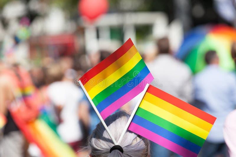 Orgoglio di LGBT immagini stock libere da diritti