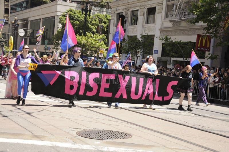 Orgulho 2011 de San Francisco fotos de stock royalty free