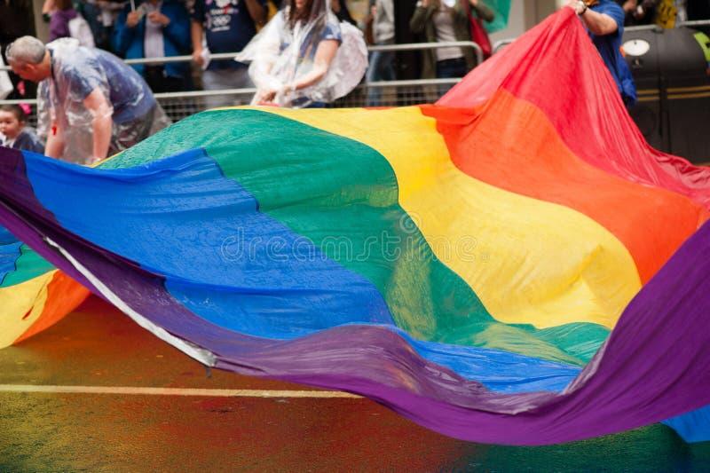 Orgulho 2014 de Londres fotografia de stock