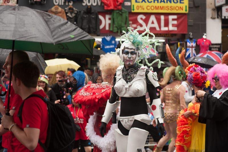 Orgulho 2014 de Londres imagens de stock