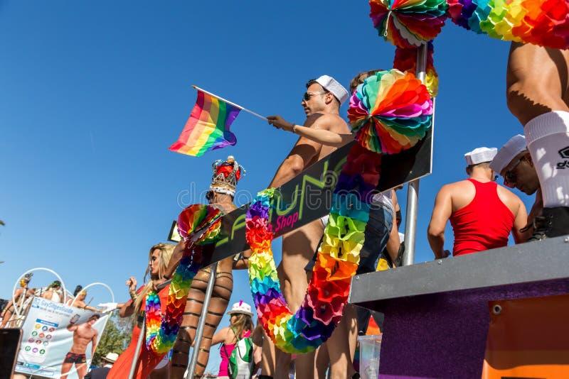 Orgulho dos povos lésbicas, alegres, do bisexual e de transgender imagem de stock royalty free