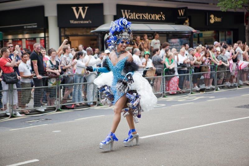 Orgulho Londres 2009 - traje fotos de stock