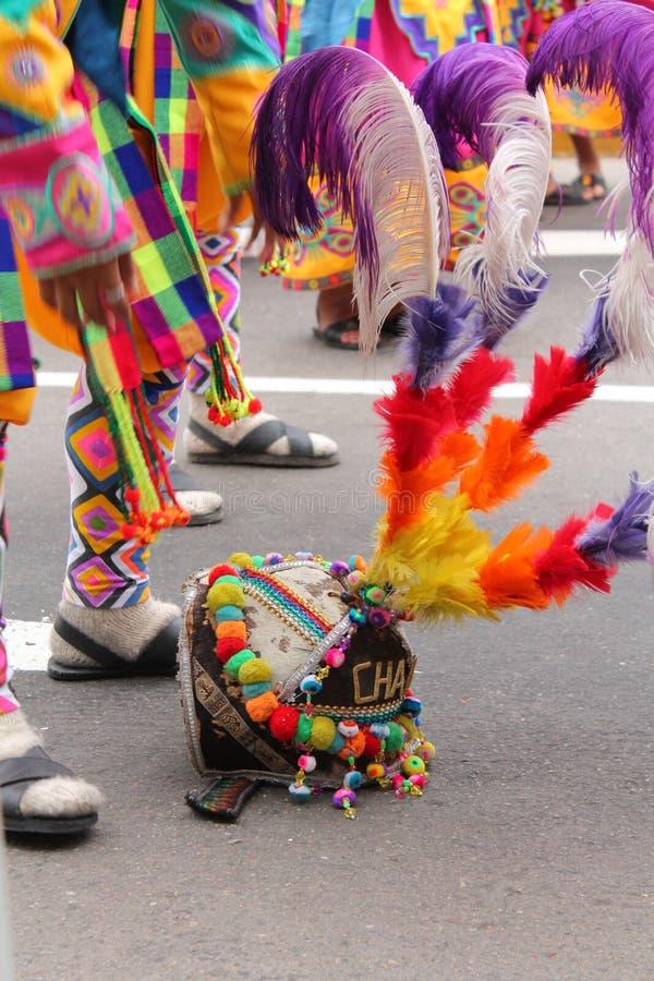 Orgulho peruano fotografia de stock royalty free