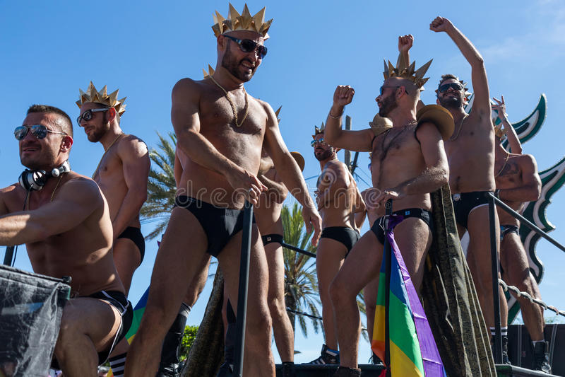 Orgullo de la lesbiana, del gay, del bisexual y de los transexuales fotos de archivo