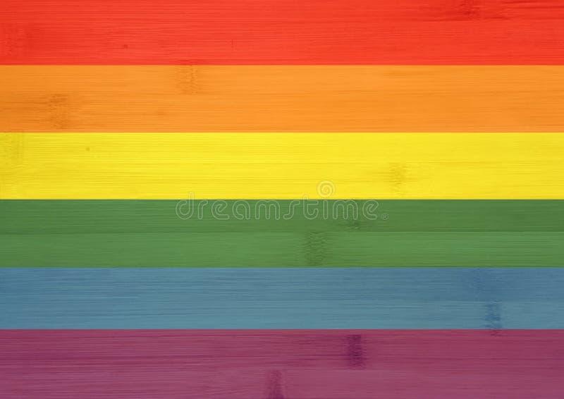 Orgullo gay/colores homosexuales - bandera imágenes de archivo libres de regalías