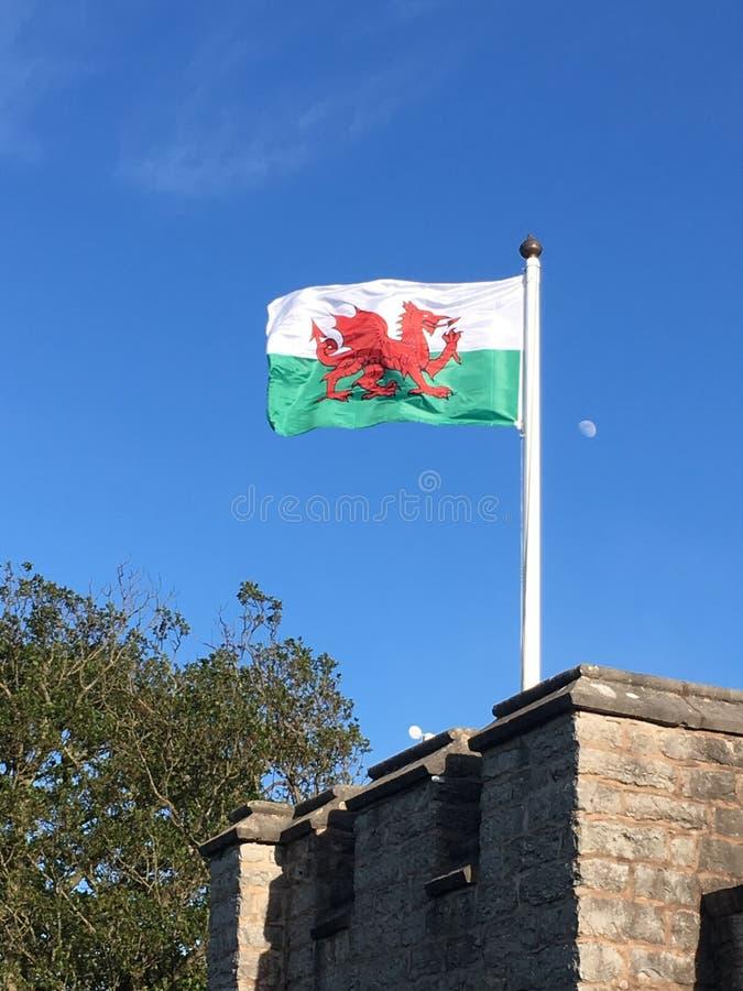 Orgulloso ser Galés imagen de archivo