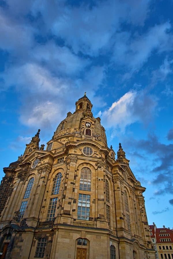 Oriëntatiepunten van Saksen Duitsland - elegante barokke stad Dresden, populaire toeristische aantrekkelijkheid royalty-vrije stock fotografie