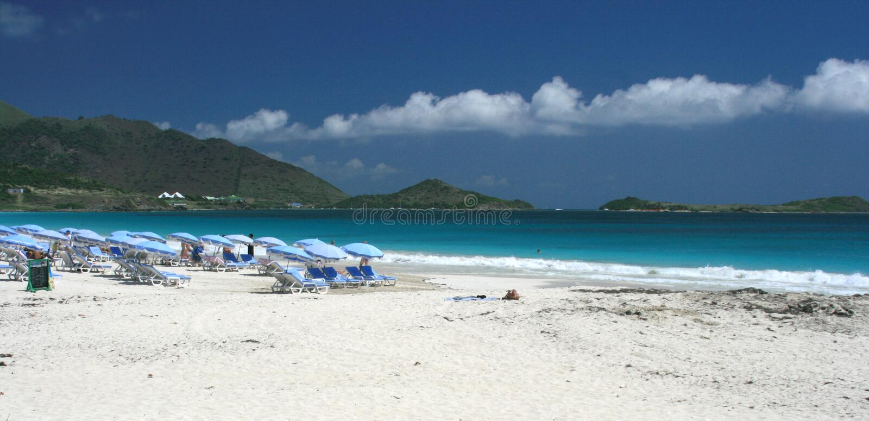 Oriënteer het Strand van de Baai #1 stock afbeeldingen