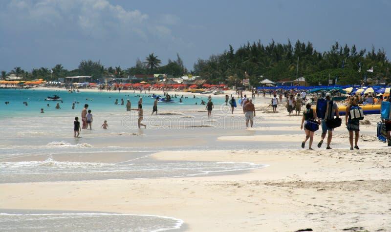 Oriënteer het Strand van de Baai   royalty-vrije stock afbeelding