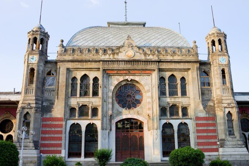 Orient-Eilstation in Istanbul lizenzfreie stockfotos