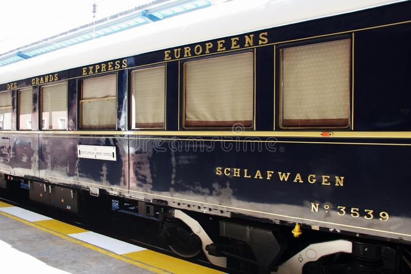 Orient Express stock images