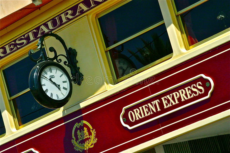 Orient Express fotografia stock
